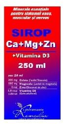 Calciu-mg-zn-d3 sirop remedia 1